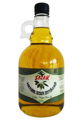 sazak zeytin zeytinyağı Naturel Sızma Zeytinyağı 1 Lt. (gallone Şişe) 0