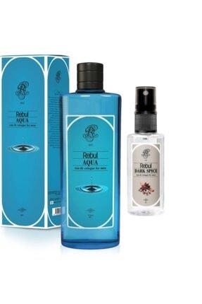 Rebul 80 Derece Kolonya 270 ml Aqua + 50mlDarc Spıce Sprey 0