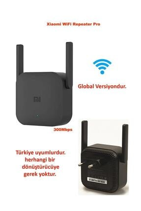 Xiaomi Mi Wifi Pro Sinyal Yakınlaştırıcı Türkiye Uyumlu Global Versiyon 300 Mbps Mı-wıfı-pro 2