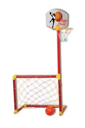 Liggo Çocuk Futbol Kalesi Basketbol Potası Seti 224 0