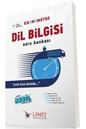 Limit Yayınları Dil Bilgisi Kronometre Soru Bankası 0