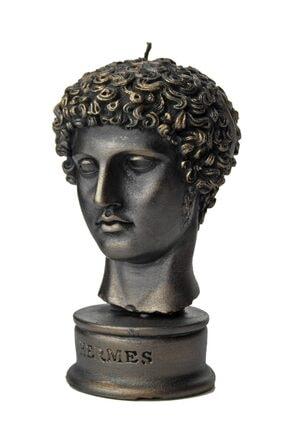 vawa Siyah Hermes Dekoratif Büst Mum 2