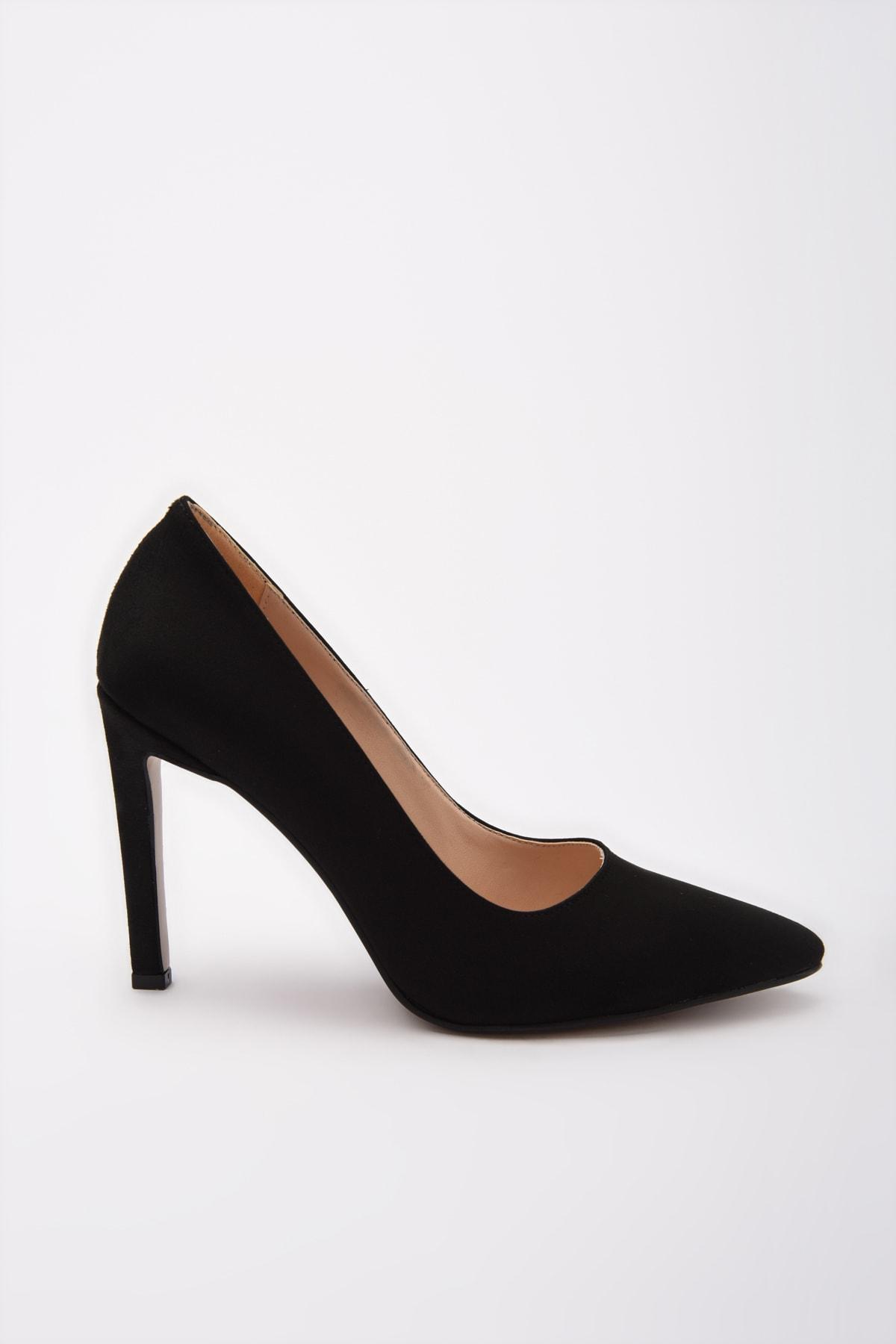 Yaya  by Hotiç Yaya by Hotiç Siyah Kadın Klasik Topuklu Ayakkabı