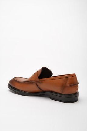 Hotiç Hakiki Deri Taba Erkek Loafer Ayakkabı 02AYH190560A370 2