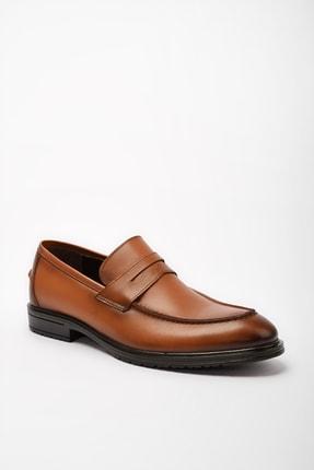 Hotiç Hakiki Deri Taba Erkek Loafer Ayakkabı 02AYH190560A370 3