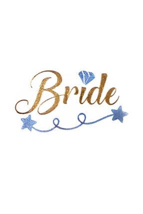New Obsessions Bride-gelin Yazılı Geçici Dövme 2