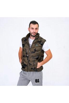 Slazenger VERONA Erkek Yelek Haki ST20YE025 1