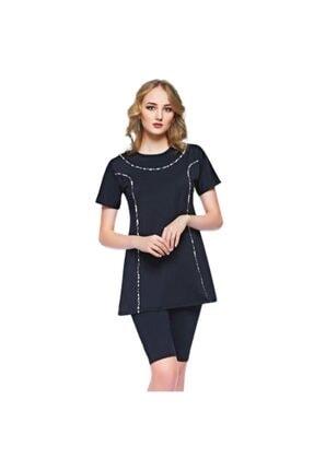 Yarımkol Elbise Tesettür Mayo 01-OS20111-RNK
