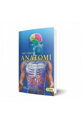 İstanbul Tıp Kitabevi Her Yönüyle Anatomi 3. Baskı 0