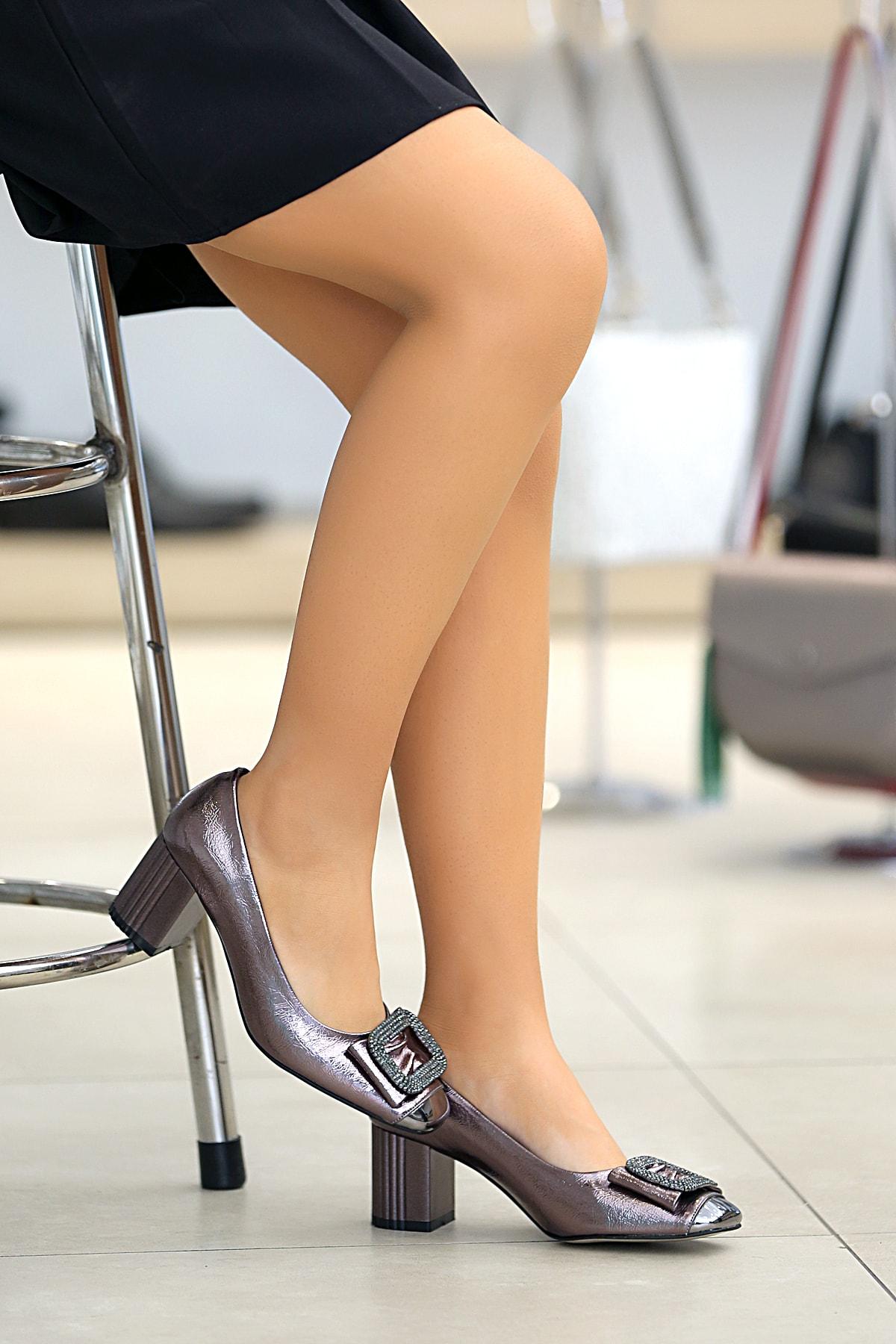 Tekin Ayakkabı Kadın Siyah Babet