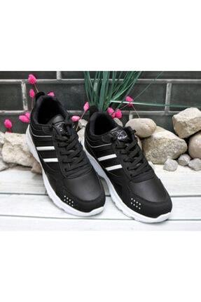 Trendway Unisex Siyah Spor Ayakkabı 2