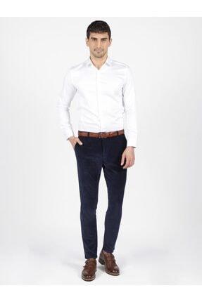 Mcr Erkek Lacivert Model Super Slim Kadife Pantolon 38804 2