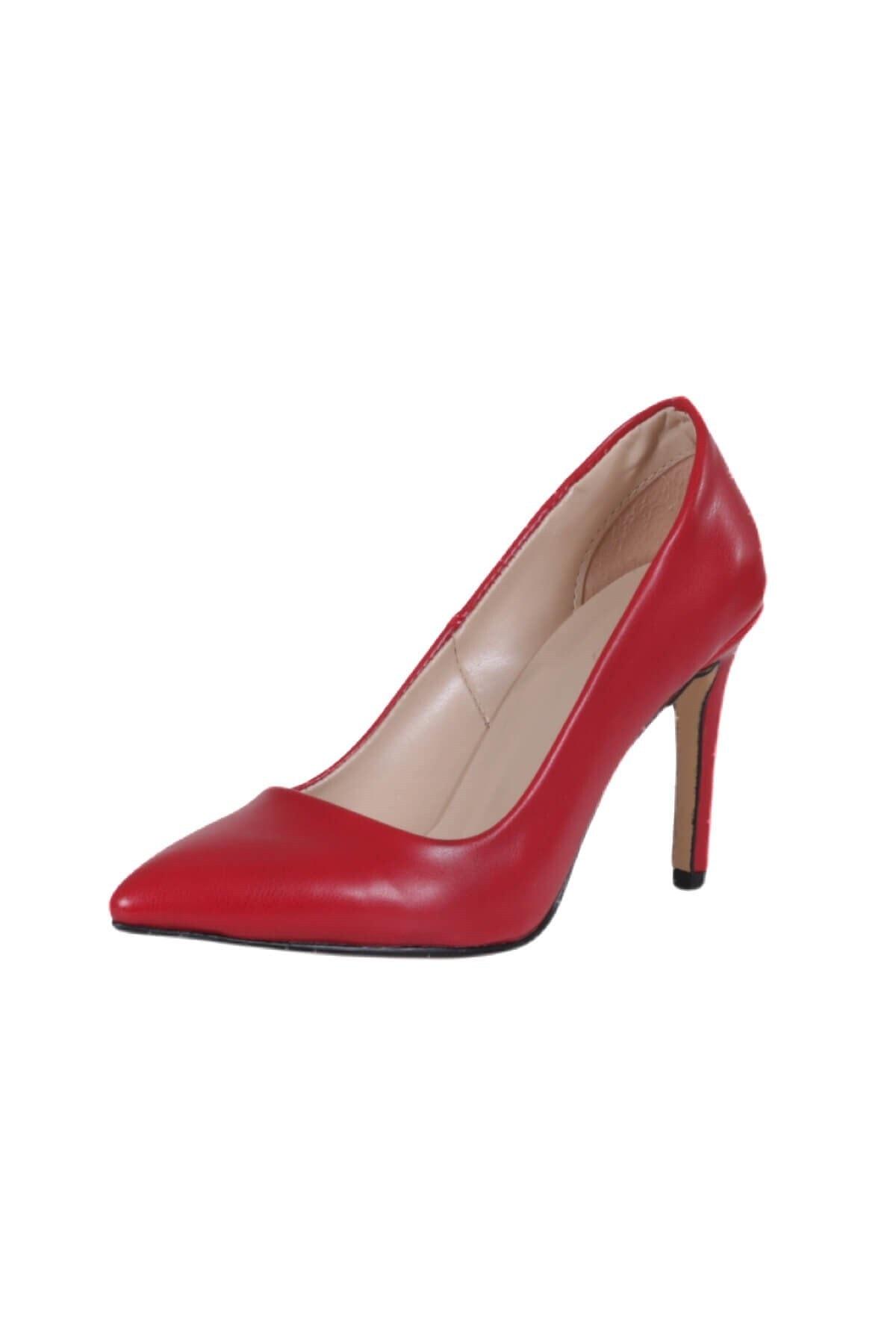 Mio Gusto Basic Kırmızı Stiletto 2