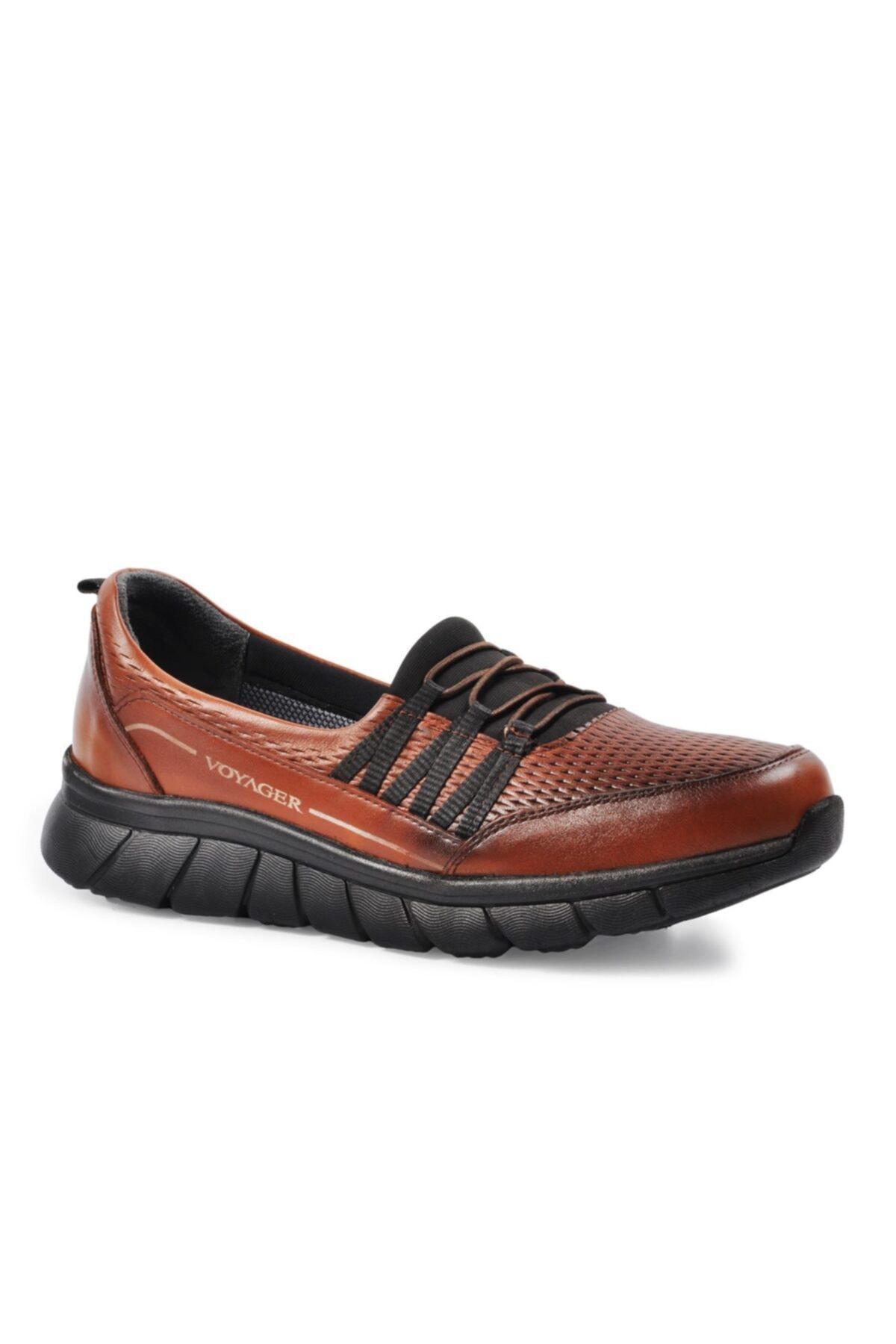 Voyager Kadın Taba Hakiki Deri Günlük Ayakkabı 8278