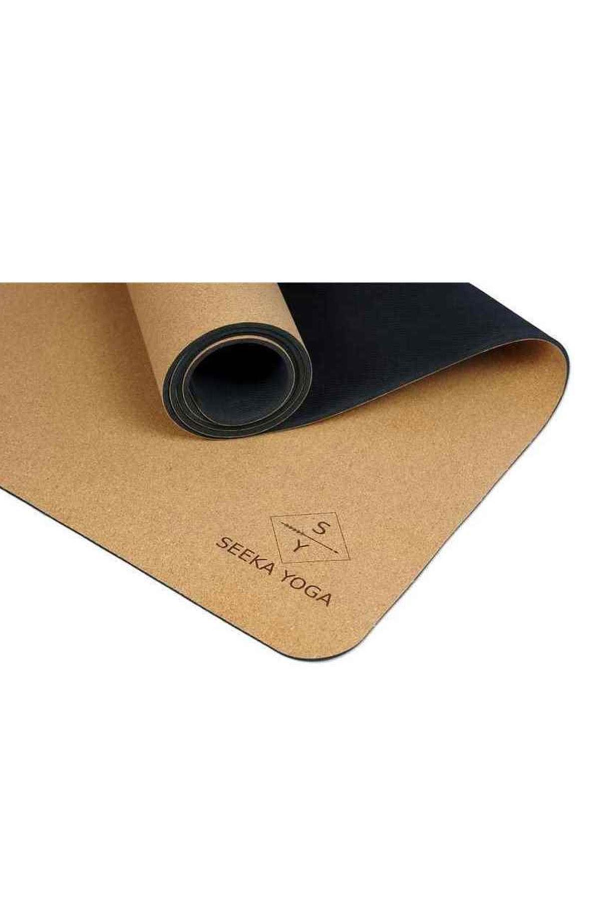 Seeka Yoga Mantar Yüzeyli Doğal Kauçuk Yoga Matı 3