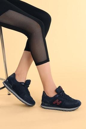 Hammer Jack Kadın Lacivert Kırmızı Spor Ayakkabı 0