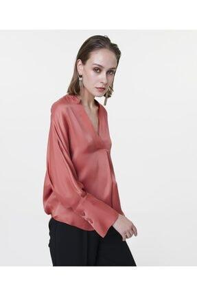 İpekyol Kadın Terracotta Over Size Bluz IS1200006122204 0