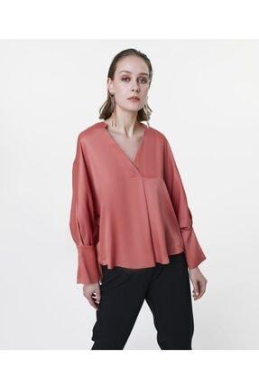İpekyol Kadın Terracotta Over Size Bluz IS1200006122204 1
