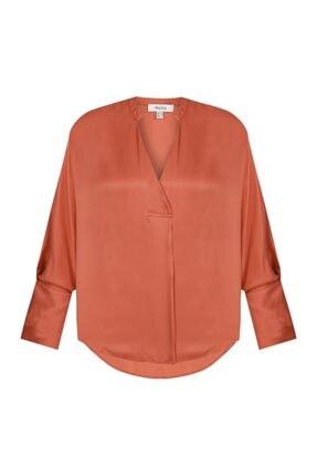 İpekyol Kadın Terracotta Over Size Bluz IS1200006122204 4