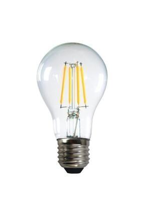 Heka Led Filament Ampul 6 W E27 Beyaz Işık 0