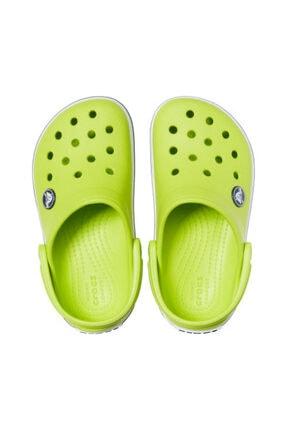 Crocs Çocuk Sarı Crocband Clog K Terlik Lime  204537-3tx 2