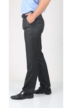 Bilgiçler Erkek Füme Pilesiz Kumaş Pantolon 1