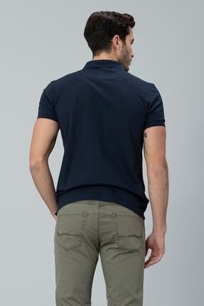 Lufian Alpaca Spor Polo T- Shirt Lacivert 4