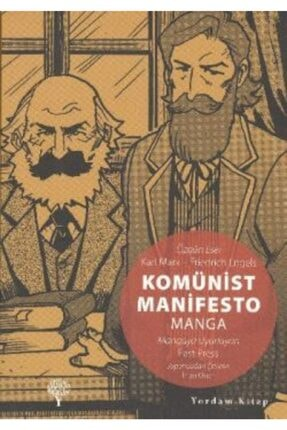 Yordam Kitap Komünist Manifesto Manga 0