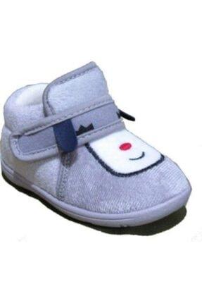Picture of 03008 Gri Ev Kreş Panduf Ana Sınıfı Çocuk Ayakkabısı