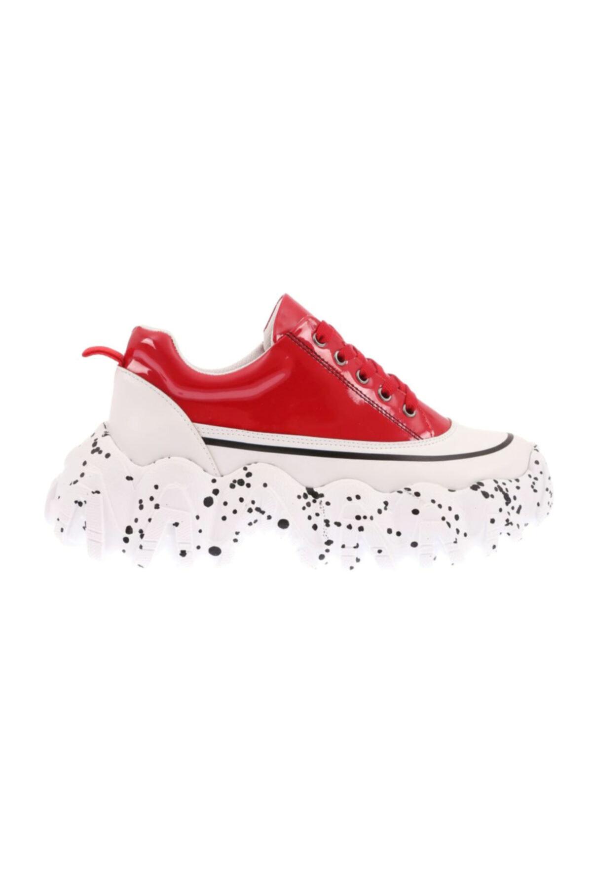 DGN H50 Kadın Mega Kalın Taban Sneakers Spor Ayakkabı 20k