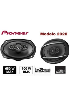 Pioneer Ts-a6977f 650 Watt Oval Hoparlör 2020 Yeni Seri (2 Adet) 0