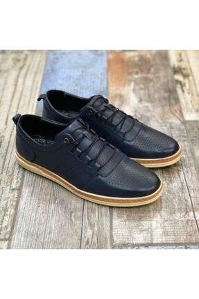 Daxtors Erkek Lacivert Klasik Ayakkabı 1