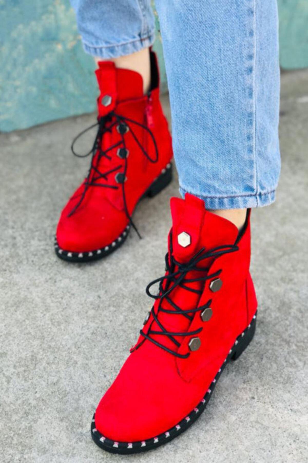 hediyerengi Kadın Kırmızı Troplu Bot