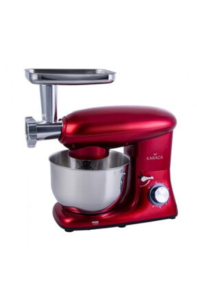 Karaca Multichef Kıyma Çekme Aparatlı Hamur Yoğurma Makinesi Redgold 0