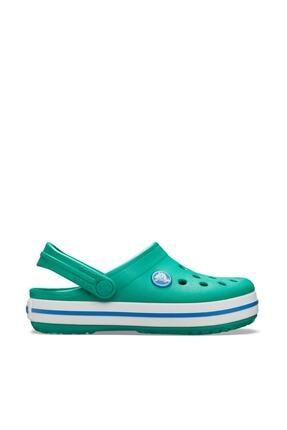 Crocs Unisex Çocuk Yeşil Spor Sandalet 0
