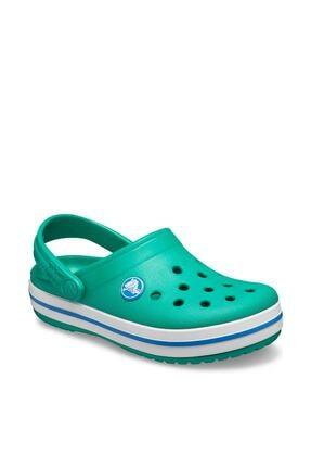 Crocs Unisex Çocuk Yeşil Spor Sandalet 2