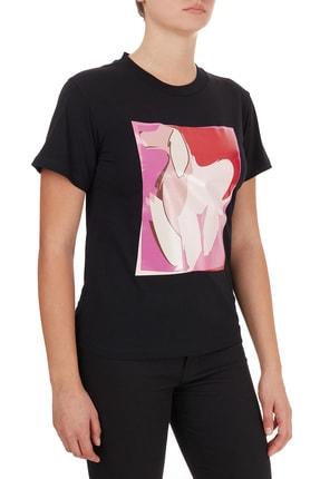 Emporio Armani Kadın Siyah T-Shirt 3