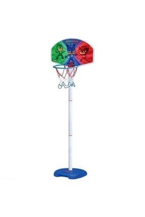 DEDE Mavi Pjmasks Ayaklı Basket Potası 1
