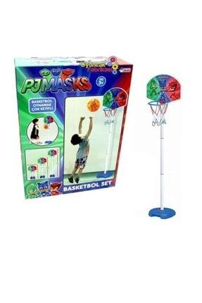 DEDE Mavi Pjmasks Ayaklı Basket Potası 2