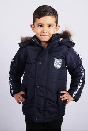 Erkek Çocuk Lacivert Mont resmi