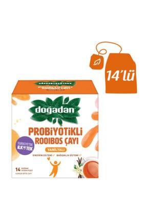 Doğadan Rooibos Vanilyalı Probiyotikli Poşet Çay 14'lü 0