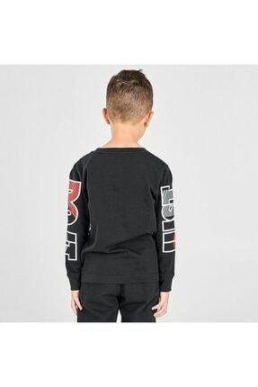 Nike Çocuk Gri Jorden Jdı Fly Ls Tee Uzun Kollu Tişört 86G978-023 2