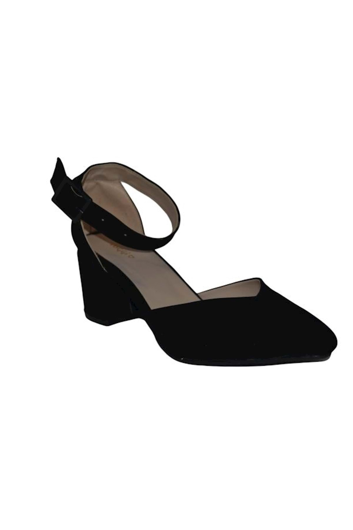 TOGGİ Kadın Siyah Topuklu Ayakkabı