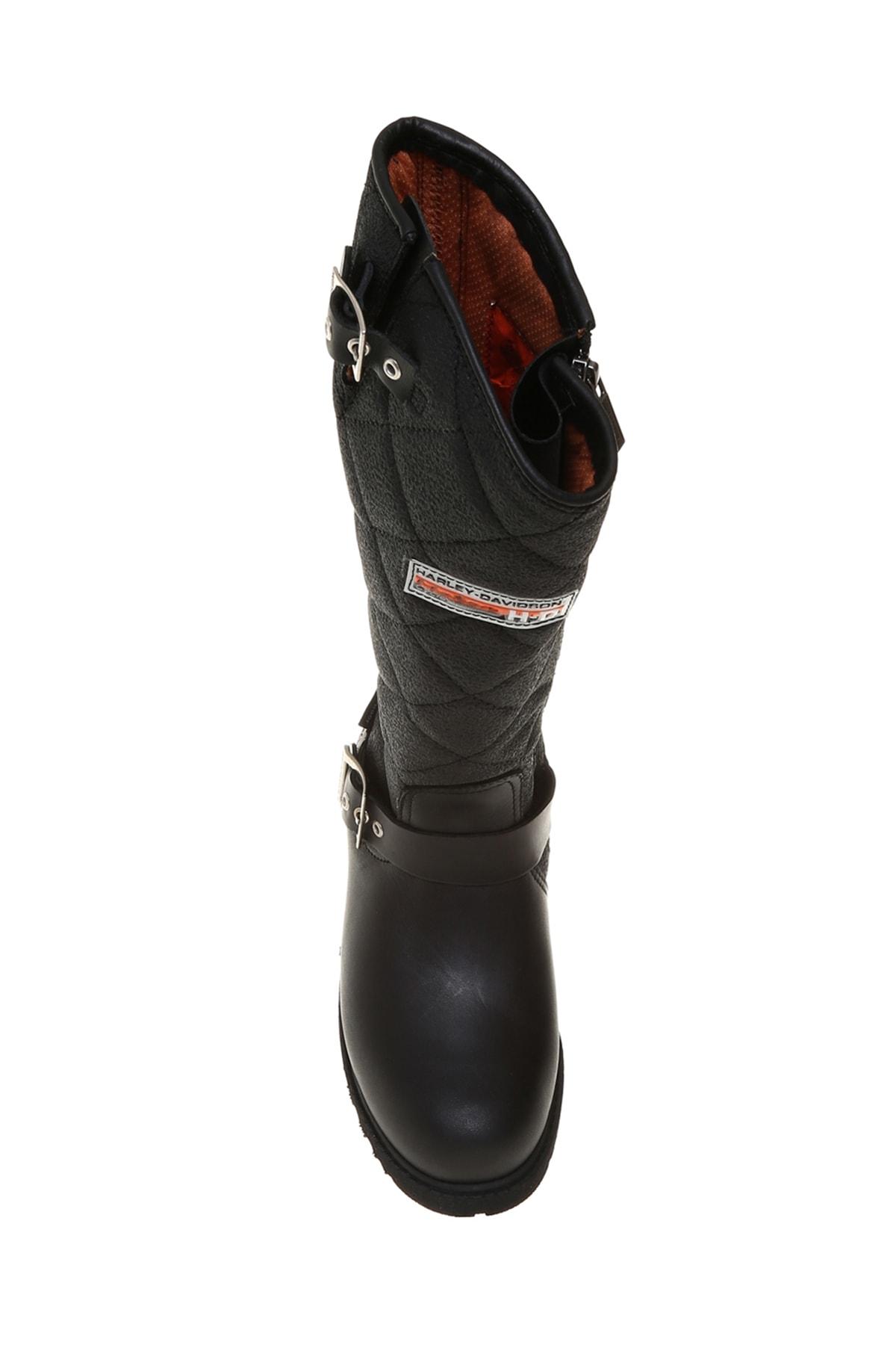 Harley Davidson Siyah Kadın Çizme 503050696 3