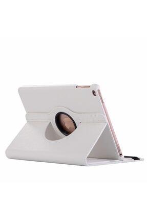 MOBAX Beyaz Apple Ipad Air 2 Dönebilen Standlı Case Kılıf A1566 A1567 0