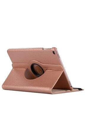 MOBAX Rose Gold Apple Ipad Air 2 Dönebilen Standlı Case Kılıf A1566 A1567 1
