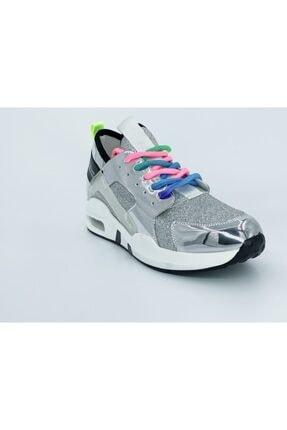 Guja Kadın Gümüş Spor Ayakkabı 18y 336-1 0