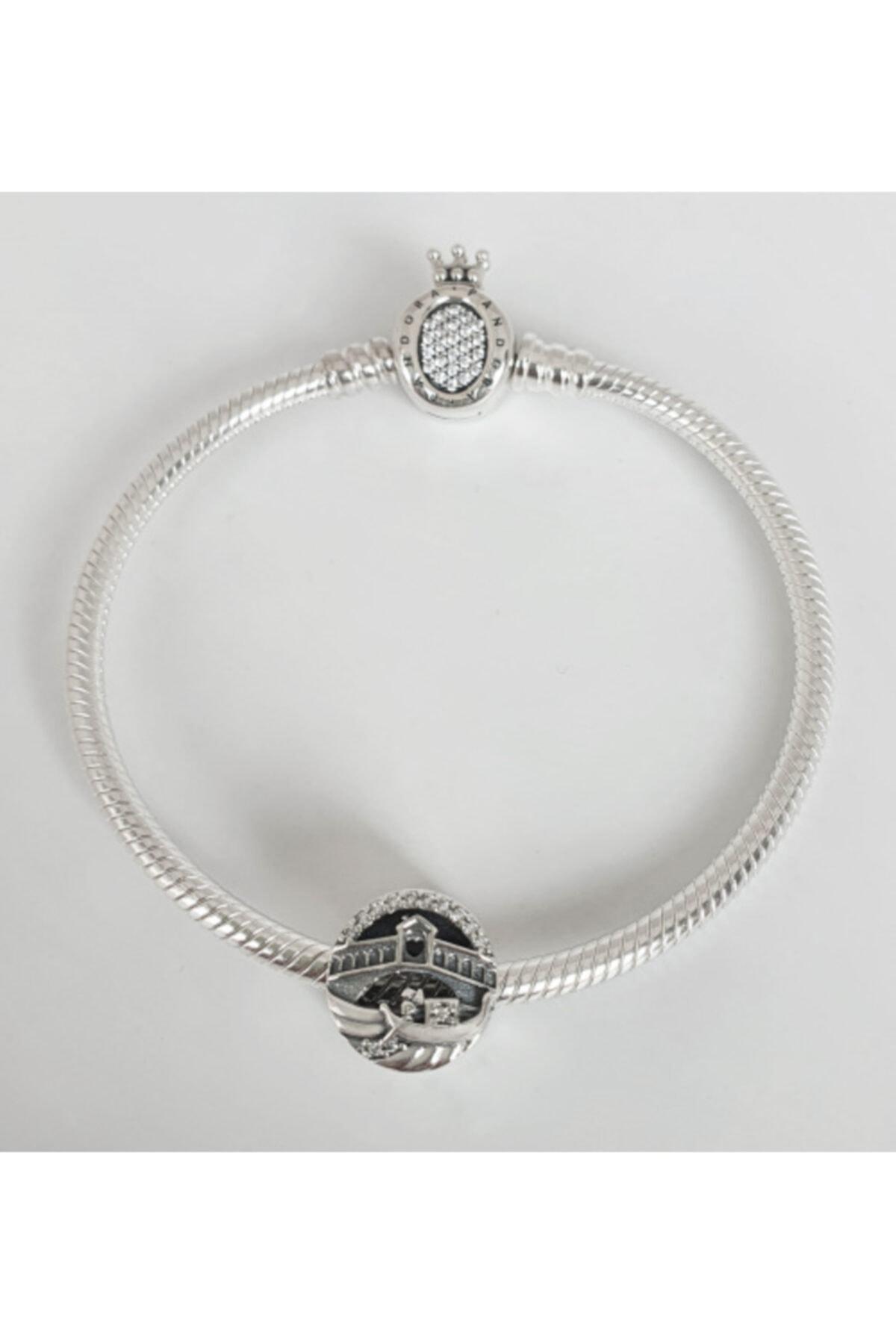 Triaboz Pandora Bileklik Uyumlu İtalya Venedik Gondol Charm