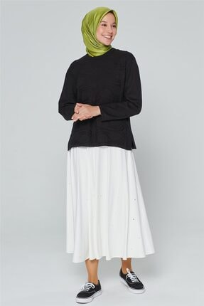 Armine Kadın Siyah Triko Kazak 9k9008 0