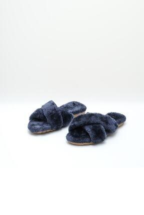 OCT Shoes Kadın Lacivert Terlik TS1026 1